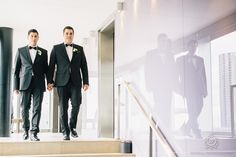 Mike & Taylor's Thompson Hotel wedding in Toronto (Rowell Photography)