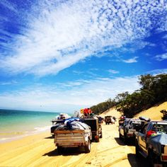 Tangalooma Resort Moreton Island Queensland Australia 4wd beach- this is how we grew up!