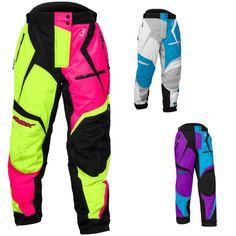 Castle X Racewear Fuel SE G5 Womens Ladies Snowmobile Winter Snow Pant Bib