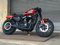 Custom Harley-Davidson XL 1200 Sportster® Roadster 2017 | Screamin'Eagle Stage 1 kit