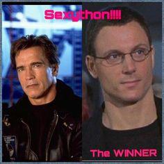 Sexython: Tony vs. Arnold