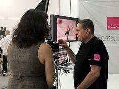 Backstage Bowens Action Day presso limbo cyclorama Roma Lumina Sense art lab