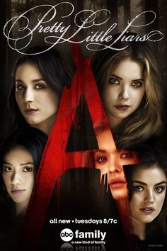 A is bAck! Watch Pretty Little Liars Tuesdays at 8/7c on ABC Family!