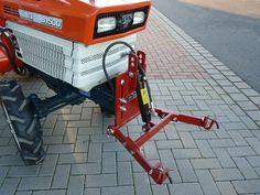Garden Tractor Attachments, Atv Attachments, Farm Projects, Welding Projects, Small Garden Tractor, Homemade Trailer, Yard Tractors, Trailer Axles, Tractor Accessories