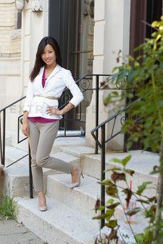 More slim pants - Review: Ann Taylor Capris sz 00P