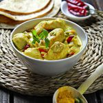Diabetic Friendly - Curried Chicken and Vegetable Stew