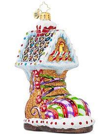 Christopher Radko Sugar Foot Ornament