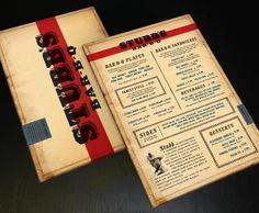 Stubb's Bar-B-Q #retro #menu