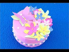 DIY.+Подарок+своими+руками♡+Коробочка+с+бабочкам+на+день+рождения♡