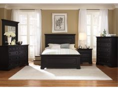 Southern Cachet Panel Bedroom Furniture Set By Liberty At  Wholesale Brokers Canada The Bedroom Set Is Constructed With Sturdy Poplar Black Furniture Gray Walls Black