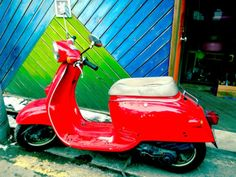 Millions of Marvelous, Motoring Mopeds Mopeds, Nice Things, Motorbikes, Street Photography, Jade, Cities, Korean, Asian, Culture