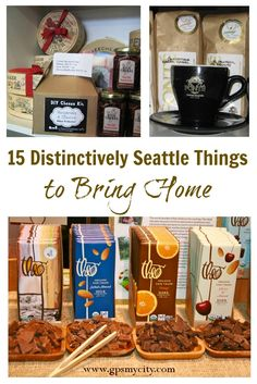 Get some goods to remember your Seattle trip by! This list offers 15 tips on local products and where to find them.