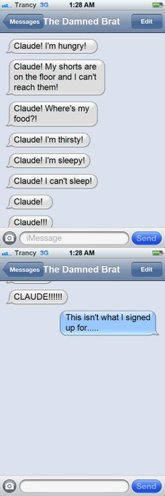 black butler text messages - Google Search