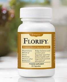 Florify Probiotics are very Effective and contain no chemicals 30 capsules