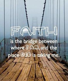 Cross the bridge !