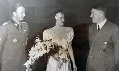Snap shows Hitler at wedding of 'brother-in-law' he later had EXECUTED