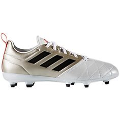 2d05be85f adidas Performance Womens Ace 173 Fg W Soccer Shoe Platino BlackCore Red S  7 M US