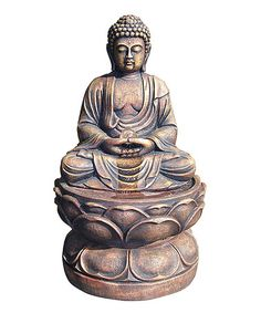 Look what I found on #zulily! Large Buddha Fountain #zulilyfinds