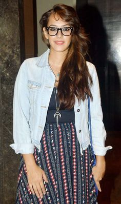 Hazel Keech at the screening of Hunterrr. #Bollywood #Fashion #Style #Beauty