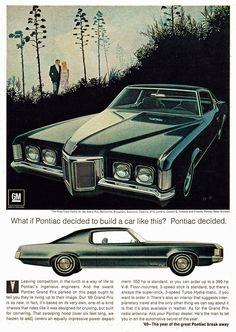 Pontiac Grand Prix, 1969.