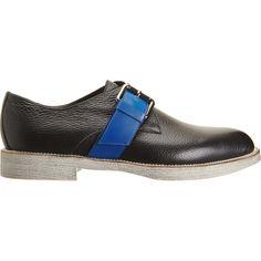 Contrast Monk Shoe