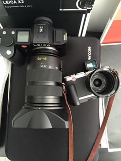 An interesting comparison sizes Leica SL and X1