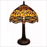 Vintage gold and black lamp on Overstock.com