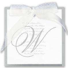 Contemporary - Invitation | Invitations By David's Bridal