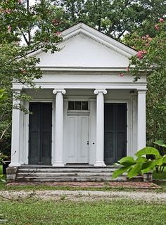 Little Greek Revival House front