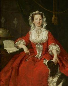 """Miss Mary Edwards"" by William Hogarth"