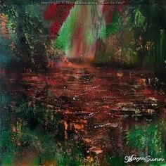 """"""" Lake of Fire """" - MayaSunn Flash Art, Buy Prints, Oeuvre D'art, Les Oeuvres, Fire, Canvas, Painting, Tela, Painting Art"""