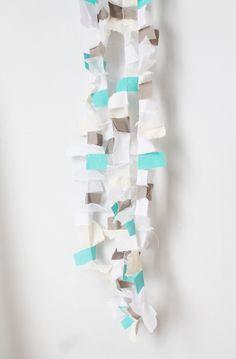 #paper #wedding #bride #decor #decorations #garland #sparkly #handmade #crafts