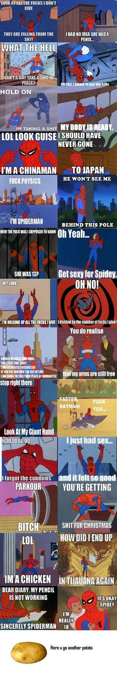 Let's bring back spiderman joke - 9GAG / I have punned entirely too many of these, but I love them.