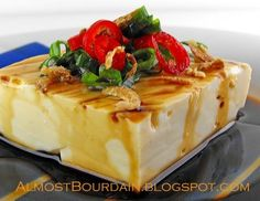 I cannot wait to try to make this!  Almost Bourdain: Homemade Tofu