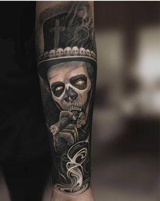 Tattoo oberarm - Tattoo oberarm - Source by Upper Arm Tattoos, Cool Forearm Tattoos, Leg Tattoos, Body Art Tattoos, Tattoos For Guys, Tattoo Arm, Totenkopf Tattoos, Skull Sleeve Tattoos, Tatoo