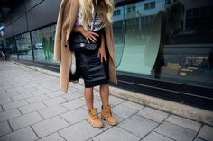 PHOTOS BY RASMUS LINDAHL _COAT FROM ZARA_TOP FROM ADIDAS_ _SKIRT FROM ASOS_BOOTS FROM TIMBERLAND_ _BAG FROM CHANEL_ Last day of 2015!! It almost feels unreal.. don't you agree? But at the same time ot feels great with a new start. I'm sooooo ready for a new year and
