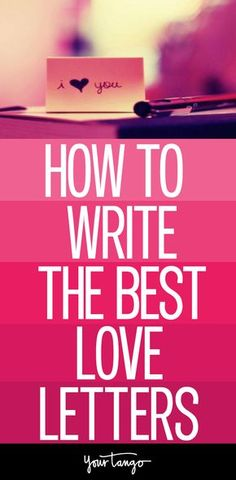 Learn How To Write Love Letters To Your Spouse Today Even If You