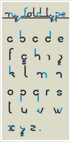 My Fold Type by Philippe Nicolas