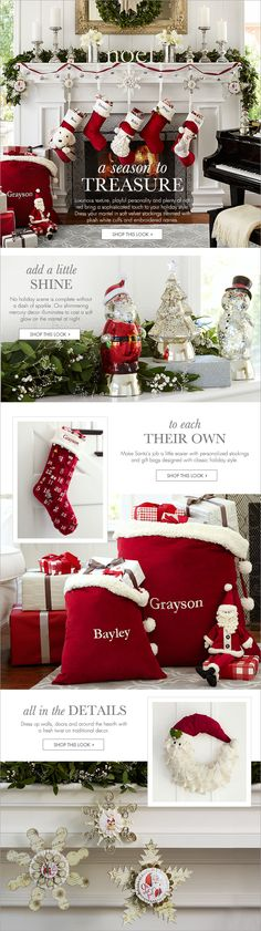Luxe Christmas decor ideas  http://rstyle.me/n/c9wqsnyg6