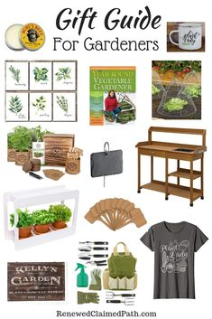 Gift Guide for Gardeners - Renewed Claimed Path