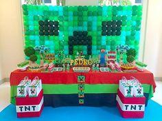 Sugestões e ideias para festa no tema Minecraft   Inspire sua festa