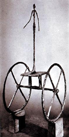 The Chariot, 1950 - Alberto Giacometti  (1901-1966)