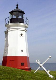Vermilion LighthouseLake ErieinVermilion south of Tillamook BayOhio US41.424667, -82.366583