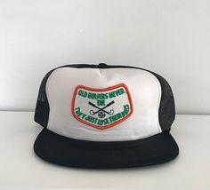 the latest 1303b dc287 Vintage trucker hat, vintage trucker cap, vintage snapback, golf hat, funny  hat, ball hat, adjustable hat