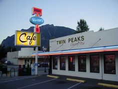 Twede's Cafe--- North Bend, WA (from Twin Peaks!!!  For those of you old enough to remember that show)