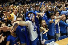 Ranking the 8 best student sections in college basketball