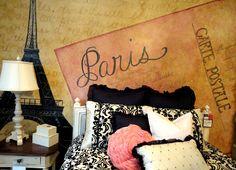 Paris Themed room