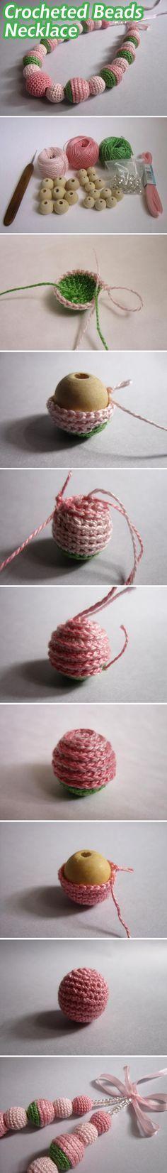 Mágneses öltöny nyaklánc karkötő / horgolt gyöngyök nyaklánc bemutatója