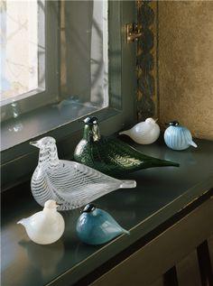 Oiva Toikka -verkkonäyttely General Goods, Kosta Boda, Bluebirds, Glass Birds, Marimekko, Glass Collection, Colored Glass, Art Tutorials, Stained Glass