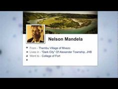 To mark his 94th birthday, The Nelson Mandela Centre of Memory posted a brilliant video that retold Mandela's life using social media. #MandelaStory
